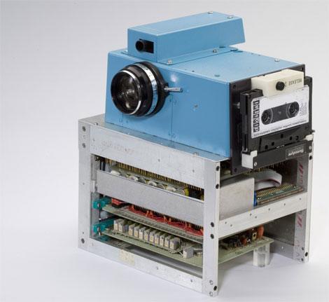 Pierwszy cyfrowy aparat fotograficzy - Kodak Digital 1