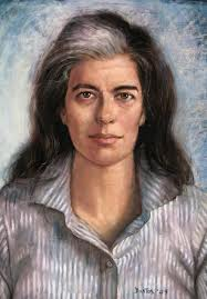 Susan Sontag by Juan Bastos.