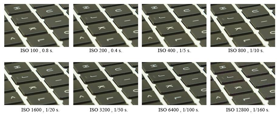 Kurs fotografii Lekcja 3) Parametr ISO