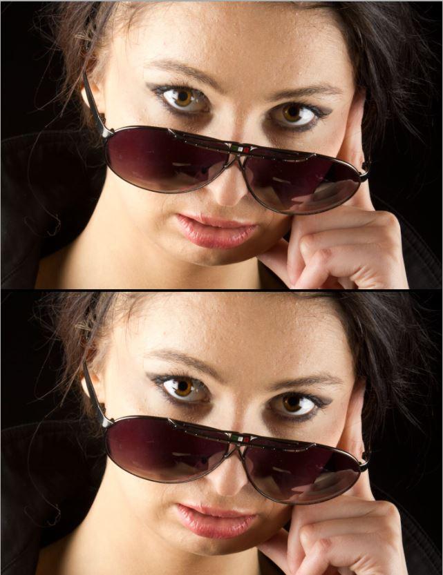 Retusz fotografii portretowej – oczy