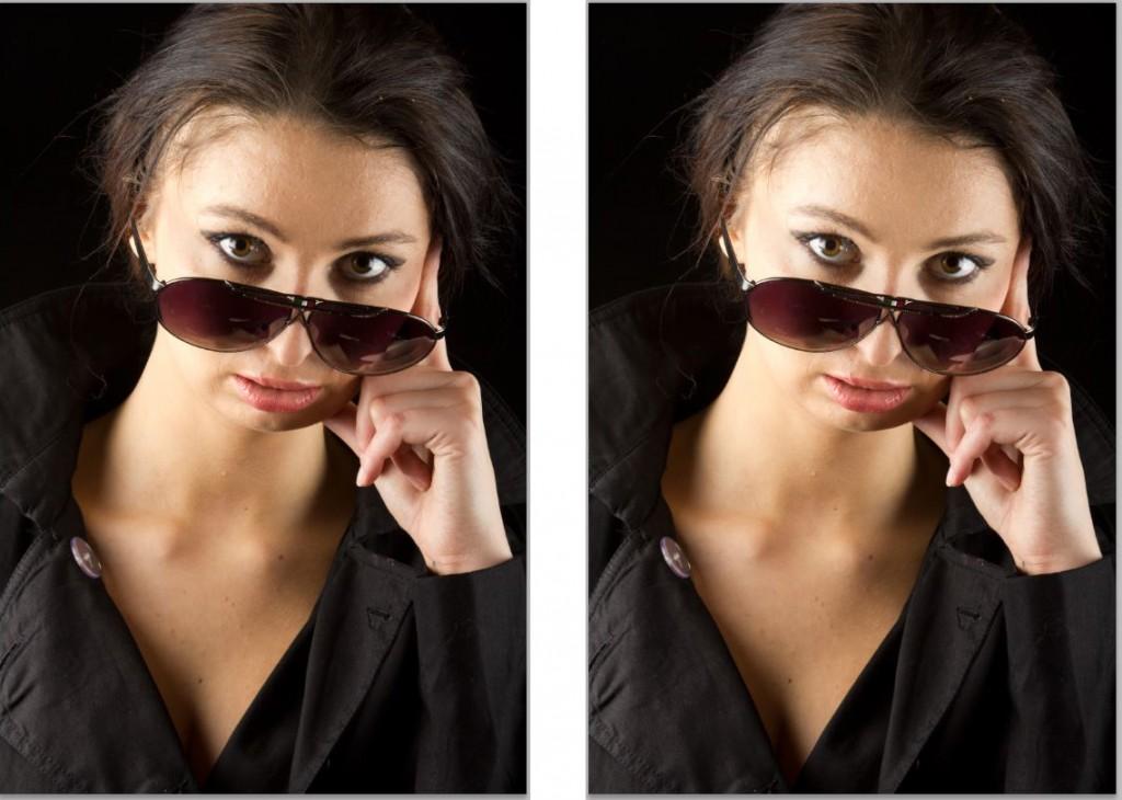 Rozjaśnianie oczu w Photoshopie