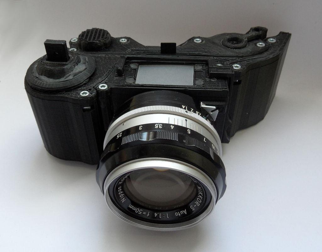 Chcesz aparat fotograficzny? Wystarczy, że go sobie wydrukujesz, wszystkie instrukcje tutaj