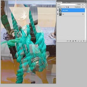 Tryb mieszania warstw Photoshopie - Lighten (Jaśniej)