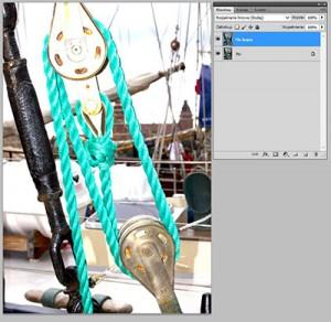 Tryb mieszania warstw Photoshopie - linear Dodge (Rozjaśnianie Liniowe)