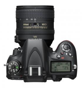 Nikon D610 widok z góry