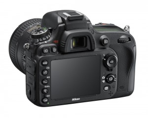 Nikon D610 widok panelu sterowania