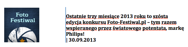 Konkurs fotograficzny foto-festiwal.pl