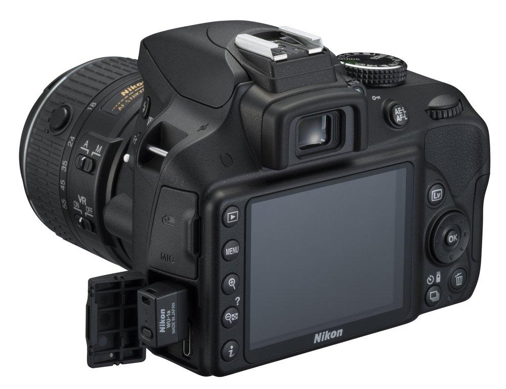Nikon D3300 - widok z tyłu