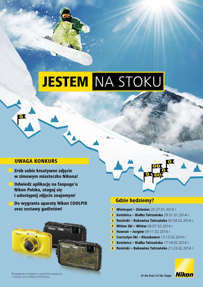 JESTEM NA STOKU Moc zimowych atrakcji z Nikonem
