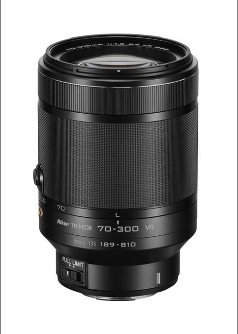 1 Nikkor 70 - 300 mm.