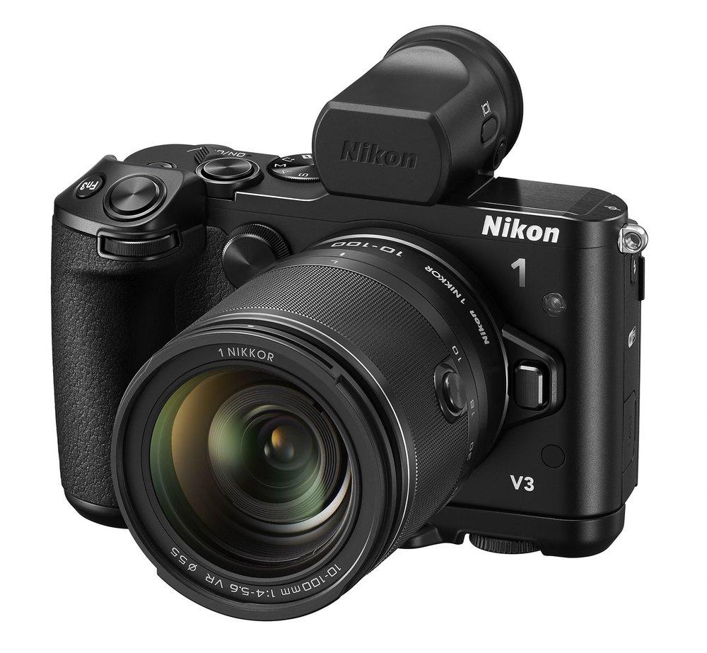 Firma Nikon przedstawia aparat Nikon 1 V3